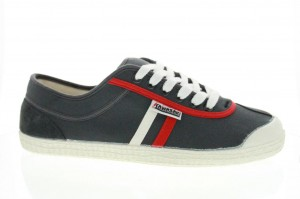 chaussures kawasaki KOKS bandes Blanches et Rouges