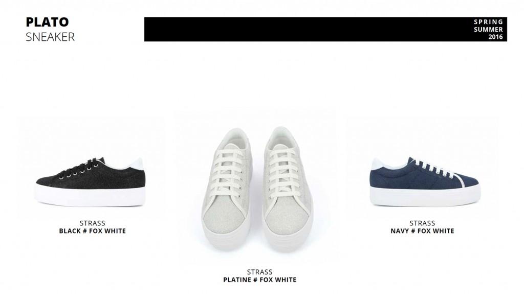 Plato Sneaker Strass