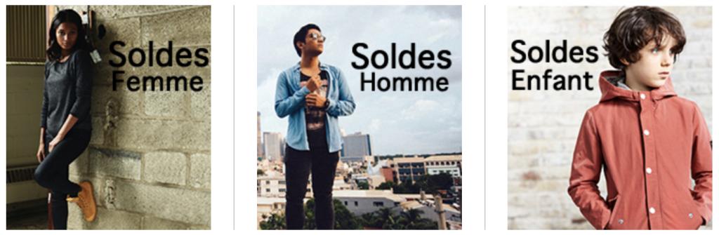 Soldes - Menu