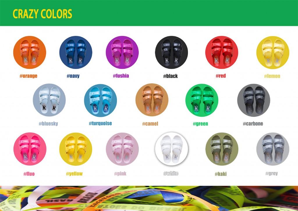 La gamme de couleurs Cacatoès pour la saison 2016